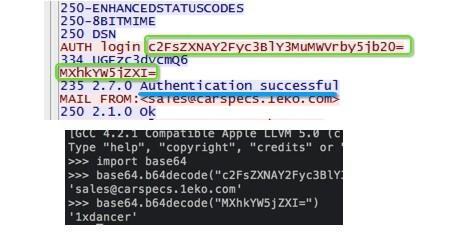 keylogger adjuntado en un correo phishing