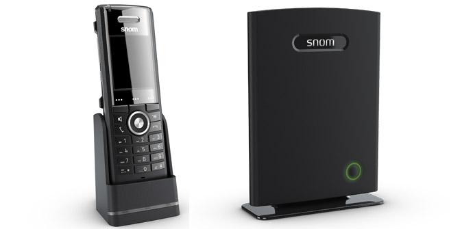 Ver noticia 'snom M65: Nuevo teléfono VoIP con llamadas en HD y base DECT'