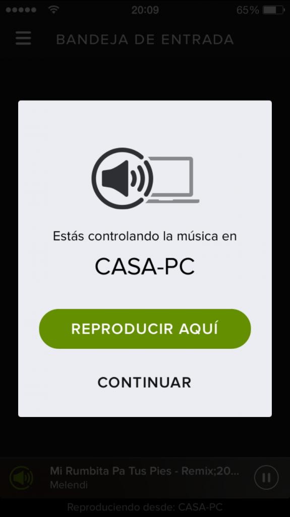 Conectar de Spotify 1