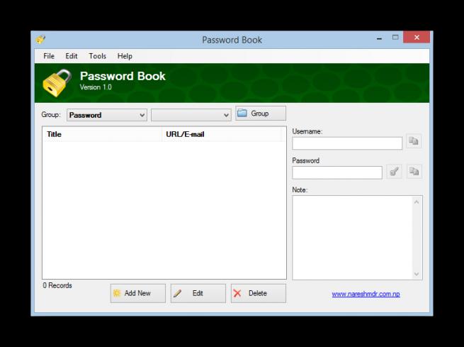 PasswordBook  foto 2