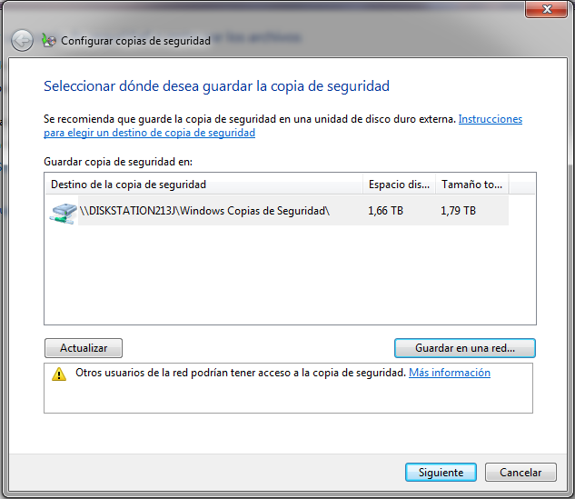 copia de seguridad de windows en synology nas 16