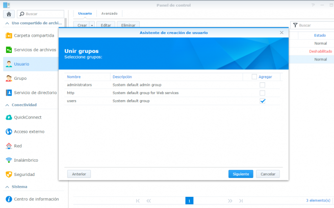 copia de seguridad de windows en synology nas 3
