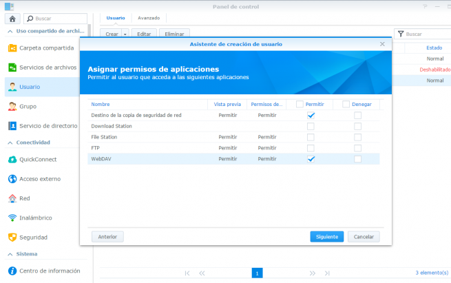 copia de seguridad de windows en synology nas 6