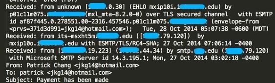 dominios edu hackeados envío correo spam con troyano zeus