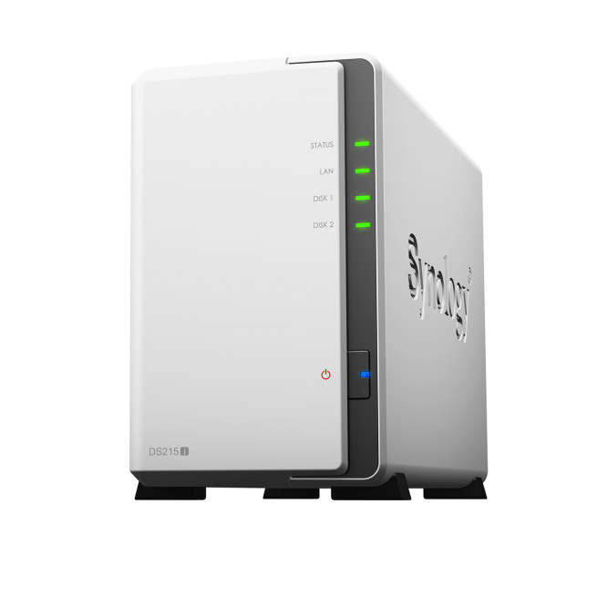 synology ds215j frontal