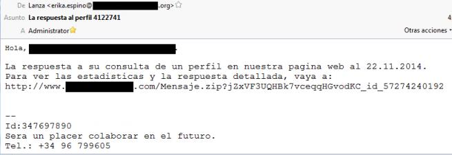 TorrentLocker_ransomware_correo_español