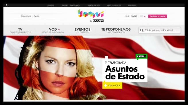 Canal Plus Yomvi Web foto