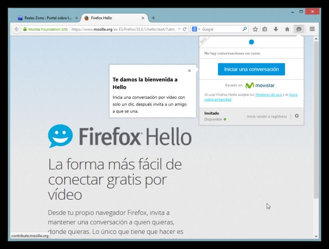 Firefox Hello analisis foto 2