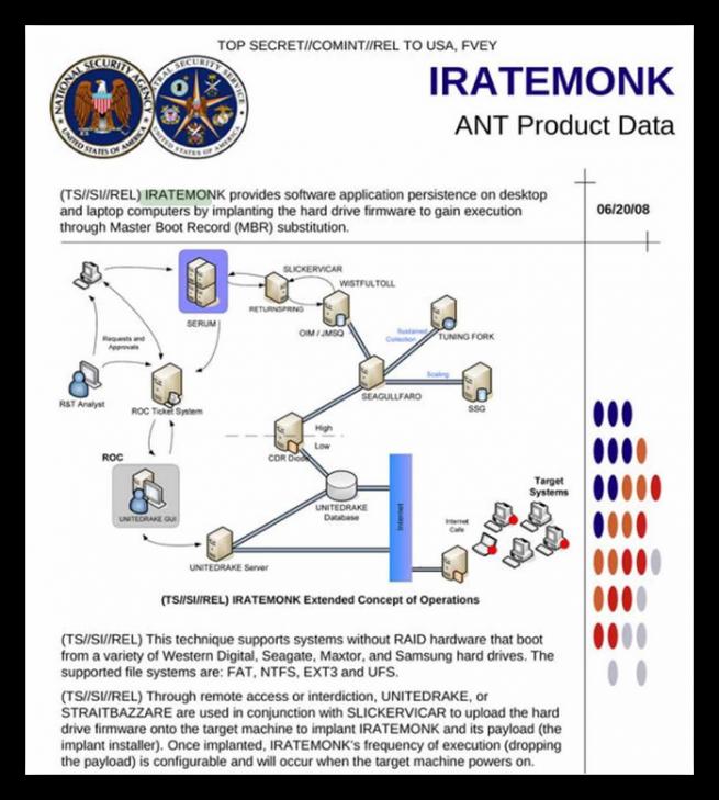 NSA Troyano Equation foto