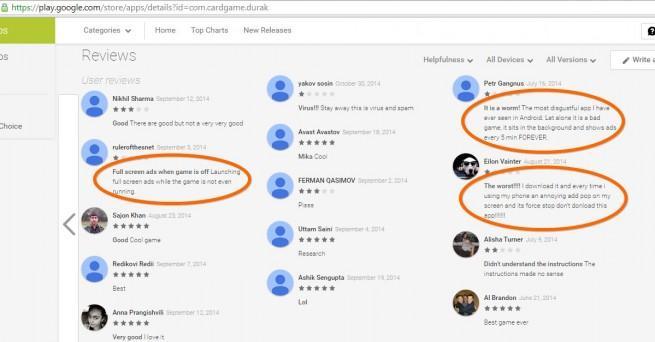 adware se cuela en la google play store