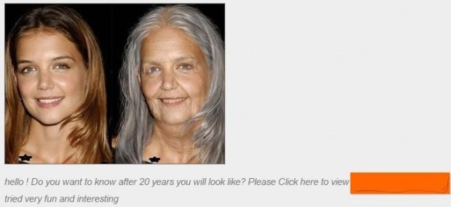 facebook simular edad de las personas