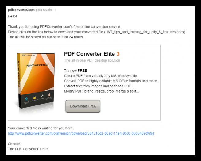 PDF Converter convertir documentos PDF online foto 2