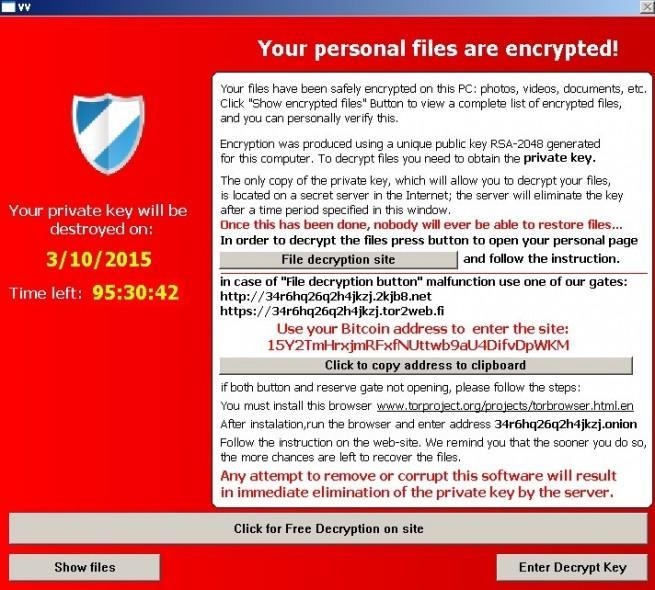 TeslaCrypt cifra archivos de videojuegos