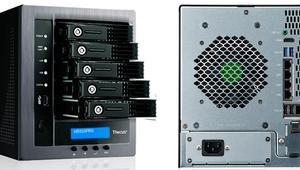 Análisis del servidor NAS Thecus N5810PRO con 5 bahías para discos duros y mini UPS incorporado