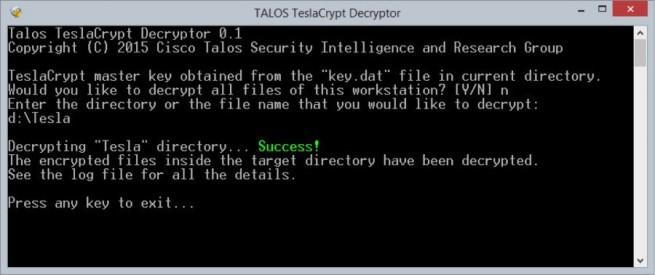 Decryption-Tool-for-TeslaCrypt-Ransomware
