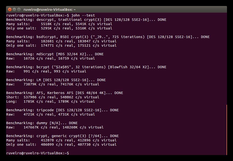 John The Ripper: Crackea contraseñas de usuarios en Linux