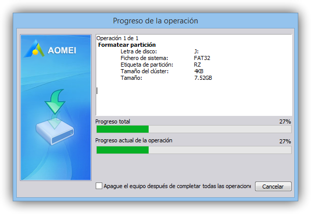 AOMEI Partition Assistant foto 4