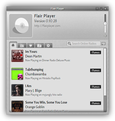Flair_Player_radio_online_foto_1