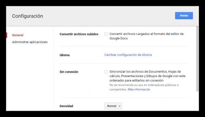 Google Chrome Drive sin conexion