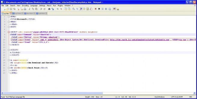 archivos de ayuda de microsoft contienen malware