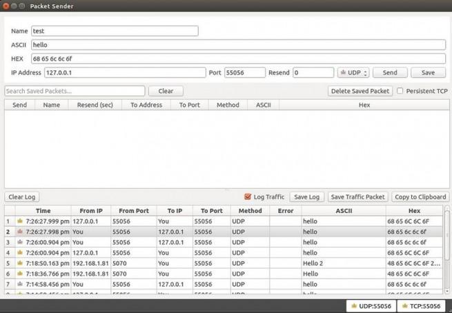 packet sender control y analisis de redes1