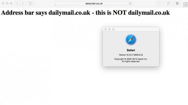 safari fallo de seguridad navegador