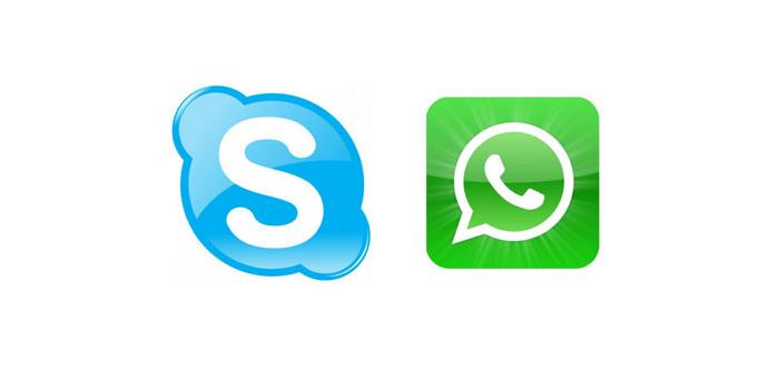 Ver noticia 'WhatsApp vs Skype: ¿Quién ofrece mejor servicio de llamadas VoIP?'