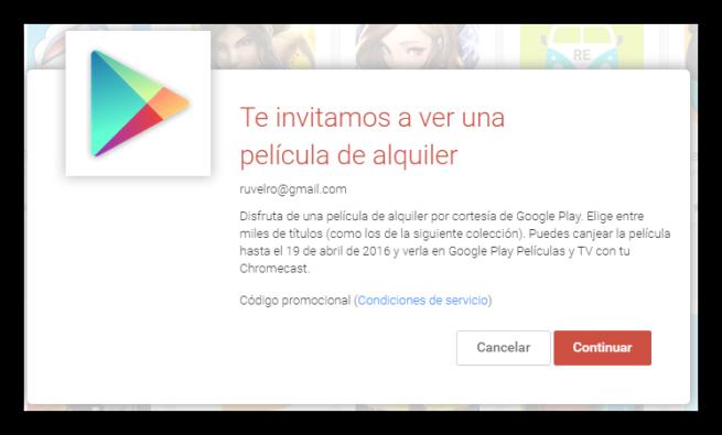 Google Play Store ofertas Chromecast foto 2