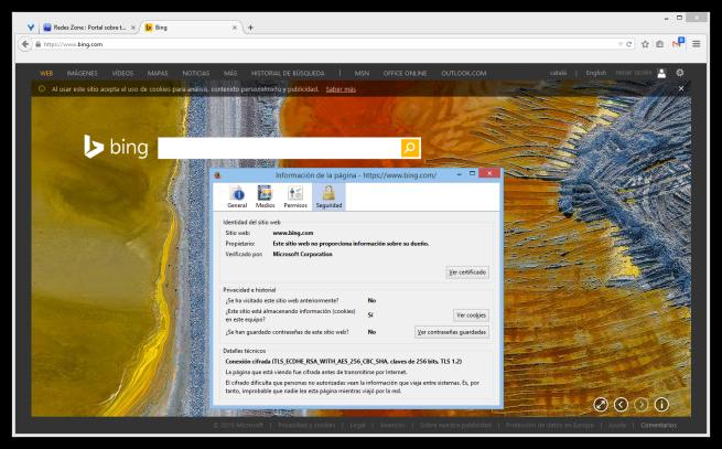 Microsoft Bing https foto