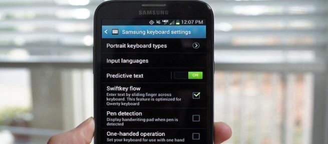 Samsung IME teclado foto