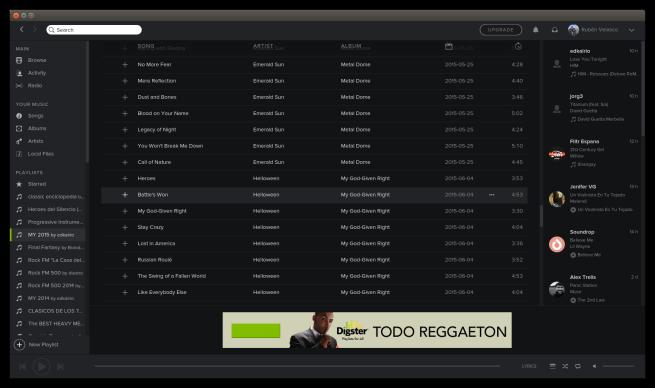 Spotify_beta_linux_sin_publicidad