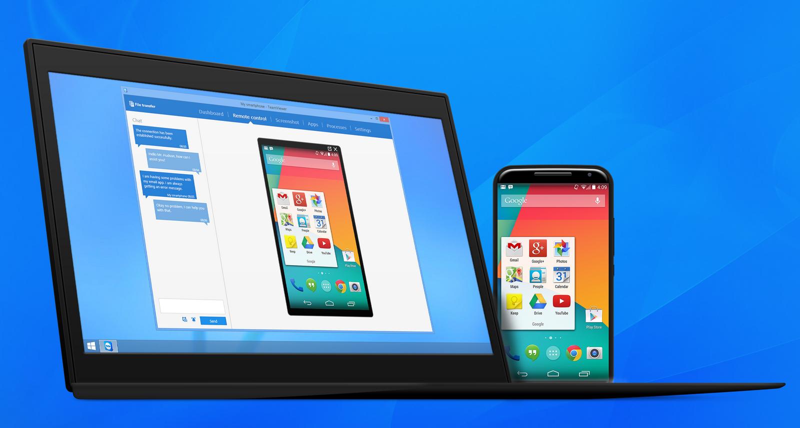 Ver noticia 'TeamViewer sigue mejorando el control remoto de smartphones Android y iOS'