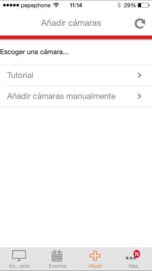 Aplicación iOS cámara IP Edimax IC-7113W 1
