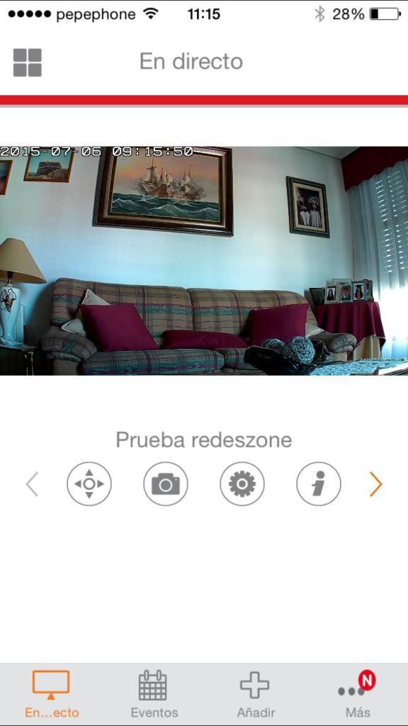 Aplicación iOS cámara IP Edimax IC-7113W 2