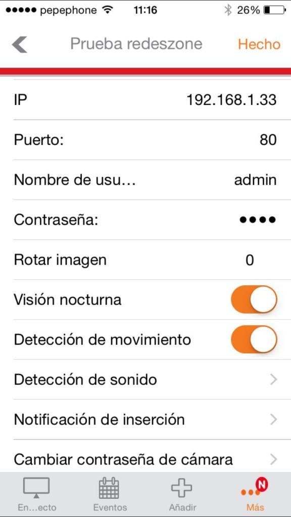 Aplicación iOS cámara IP Edimax IC-7113W 6