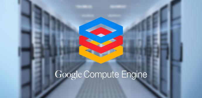 Servidores ejecutando google compute engine