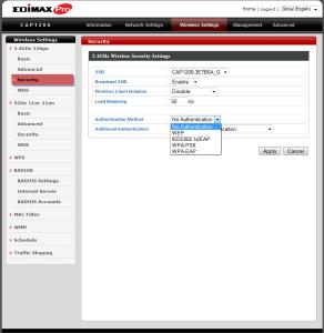 Firmware Edimax CAP1200