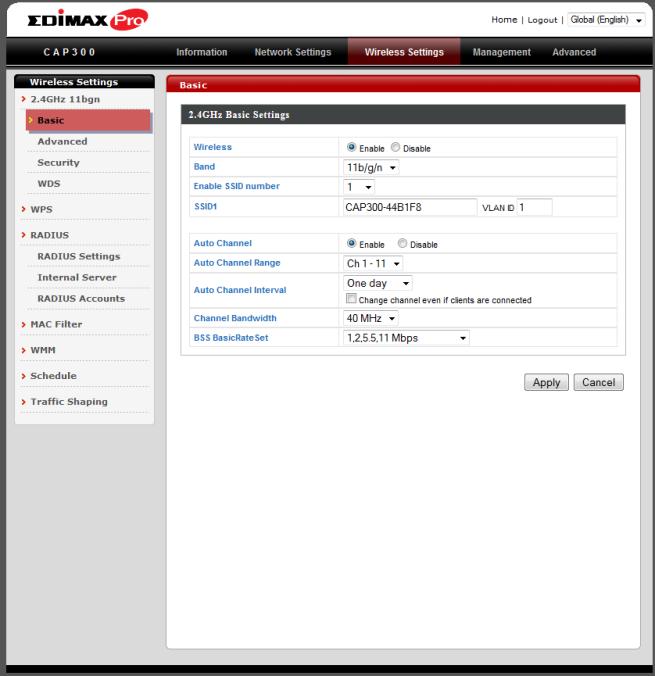 Firmware Edimax CAP300