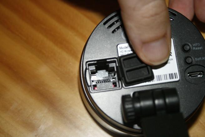 Puerto Fast-Ethernet de la cámara cámara IP Foscam C1