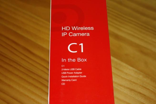 Lateral izquierdo de la cámara IP Foscam C1