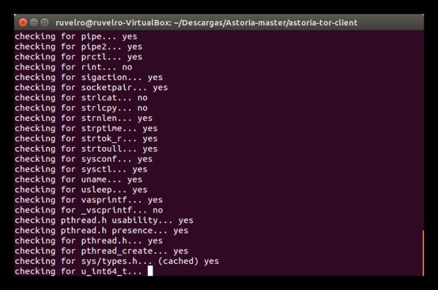 Astoria, cliente Tor privado y anónimo