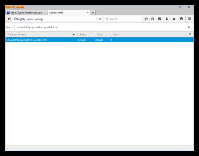 Cómo desactivar las conexiones en segundo plano de Firefox