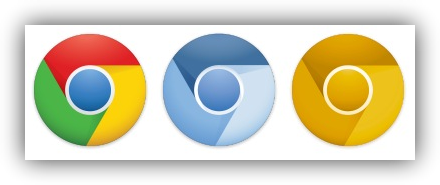 Logotipos de Google Chrome