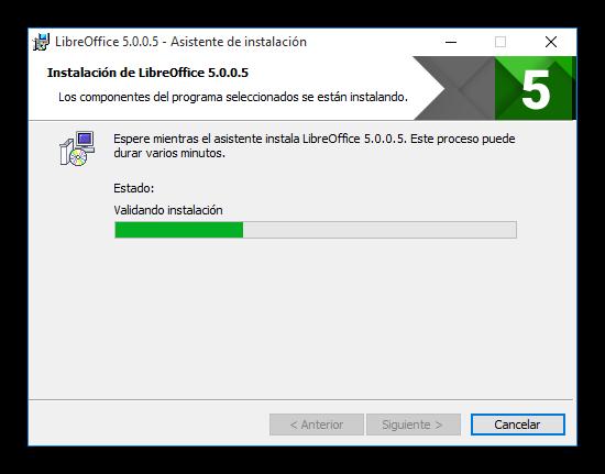 Instalando LibreOffice 5.0