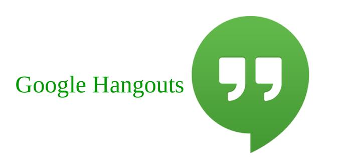Logotipo principal de Google Hangouts