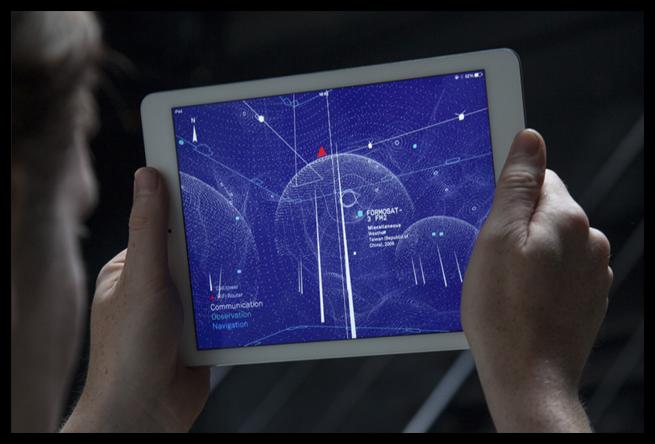 Redes Wi-Fi y móviles visibles en un iPad