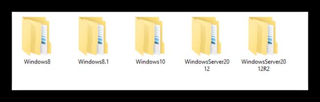 Sistemas operativos de las actualizaciones de Microsoft