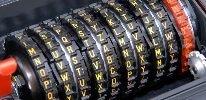 Máquina para generar criptografía