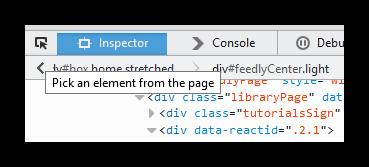 Eliminar un elemento de una página de Firefox
