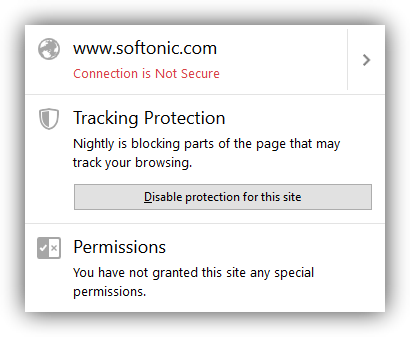 Firefox 42 Tracking Protection